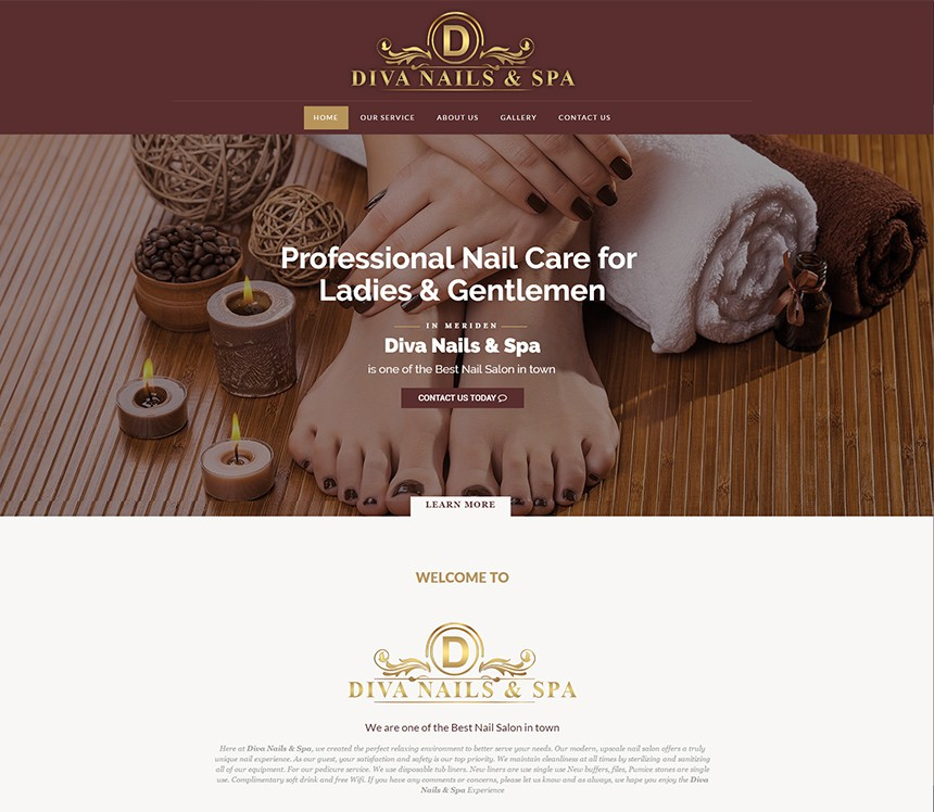 DIVA NAIL SPA CONNECTICUT – Best Salon Websites – Nail